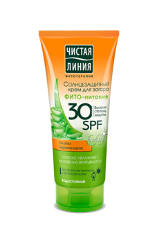 "Sunscreen Cream ""Phyto-Nourishment"""